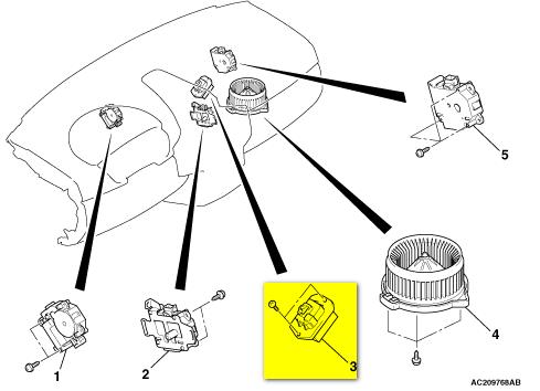 blower motor location mitsubishi forum mitsubishi. Black Bedroom Furniture Sets. Home Design Ideas