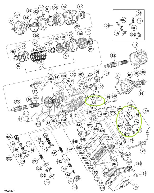 Where Would I Find Shift Solenoid On My Ford Expedition
