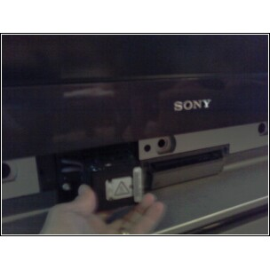 Our sony kdf-e55a20 power light is blinking red and the tv does ...