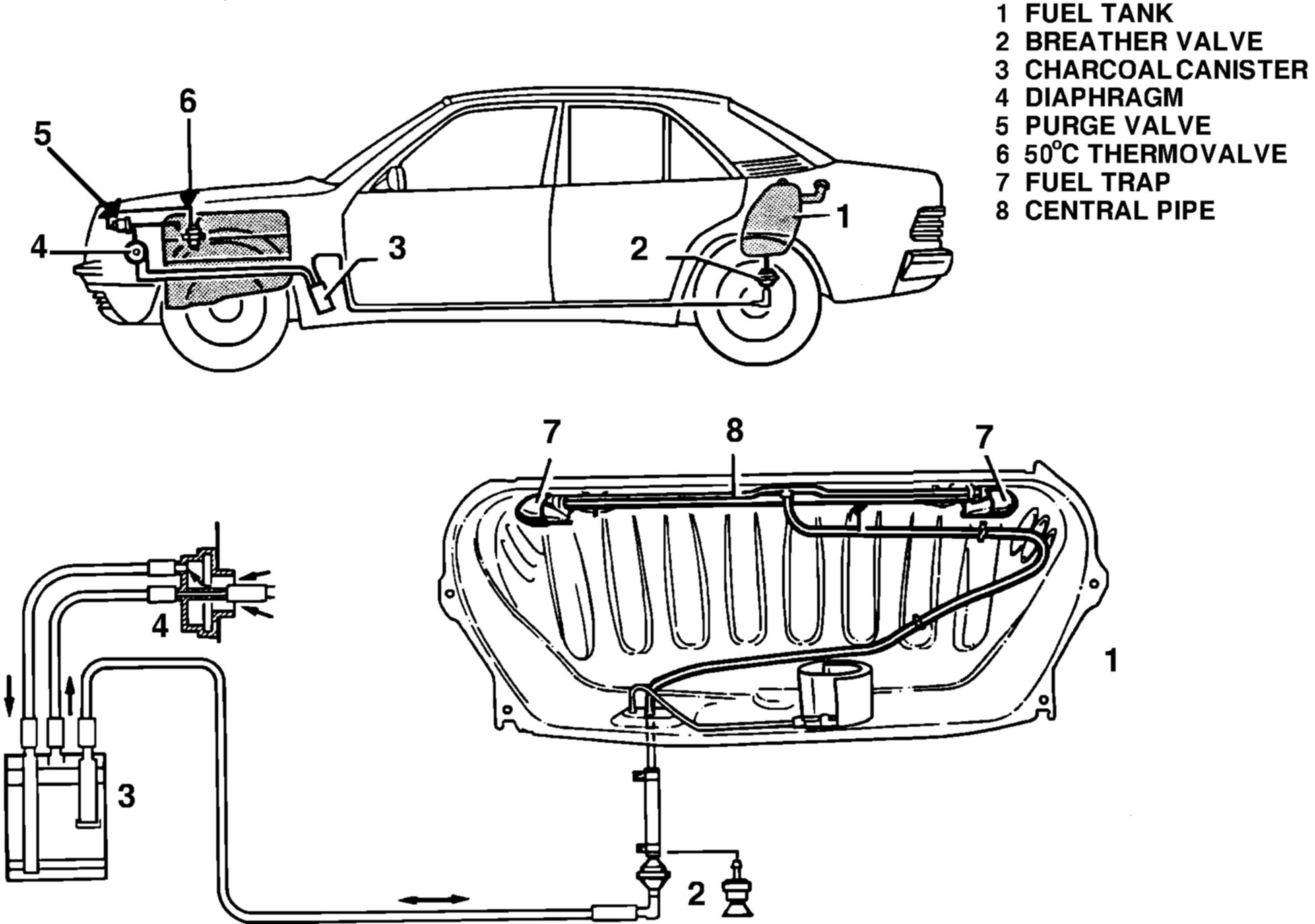 Mercedes Benz 300e Fuel Filter Location Wiring Diagram Libraries On 2009 Toyota Camry Tank Vent Valve Sedan Petrol W124 89 Model