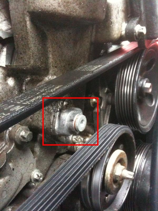 I Have A Large Oil Leak On My 1999 Clk 320 No Oil Leak Is