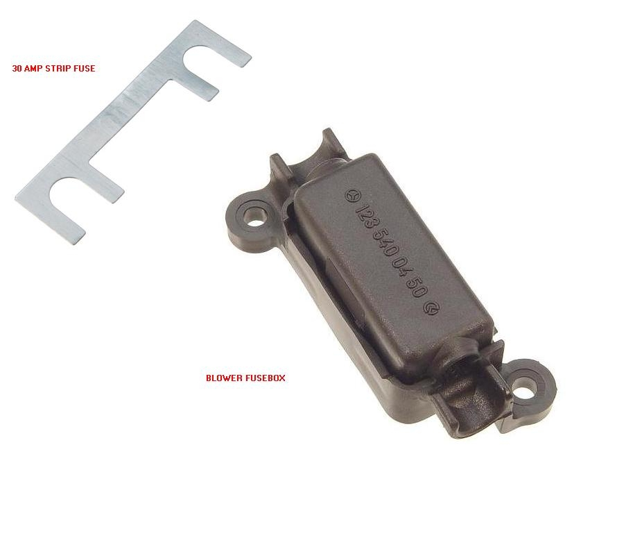 1992 Mercedes Benz 400 Se Suspension: Where Is The Fuse Located That Supply Power To The A/c