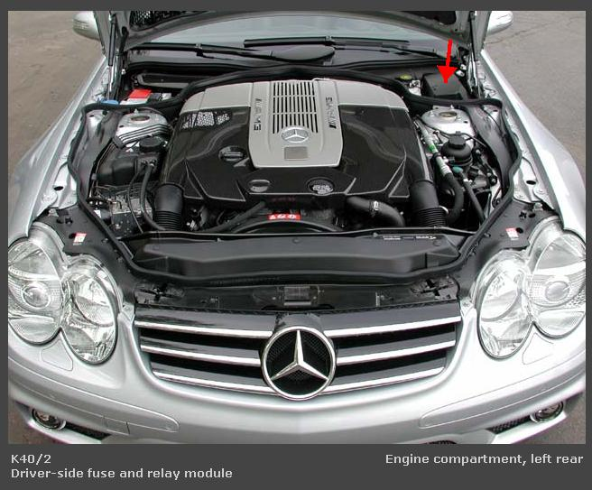 Car Battery Size Chart >> 2004 merecedes benz sl500. Last night after I put the top ...