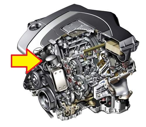Mobil 1 Oil Filter >> Where is the oil filter located on 2010 glk350? also, the dealer added b&G oil additive to the ...