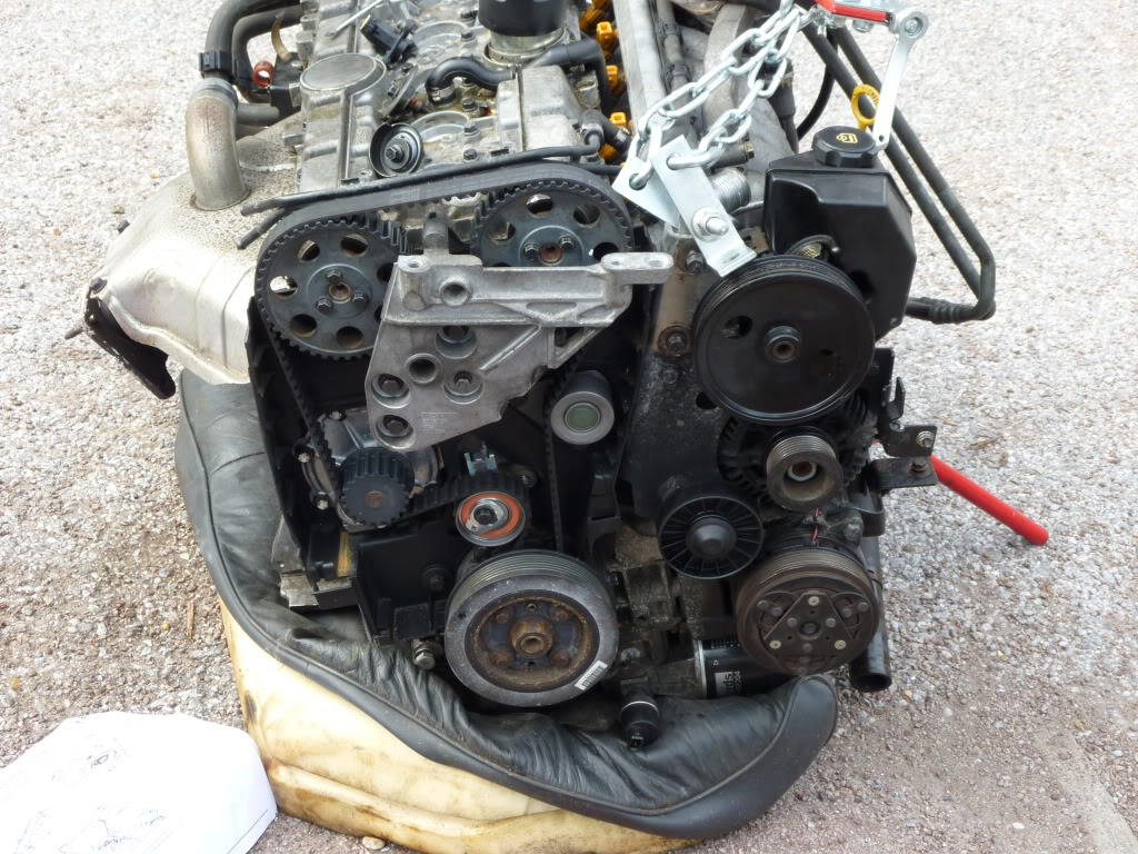 Need Diagram Of Timing Belt Tensioner Install And Belt Tensioning