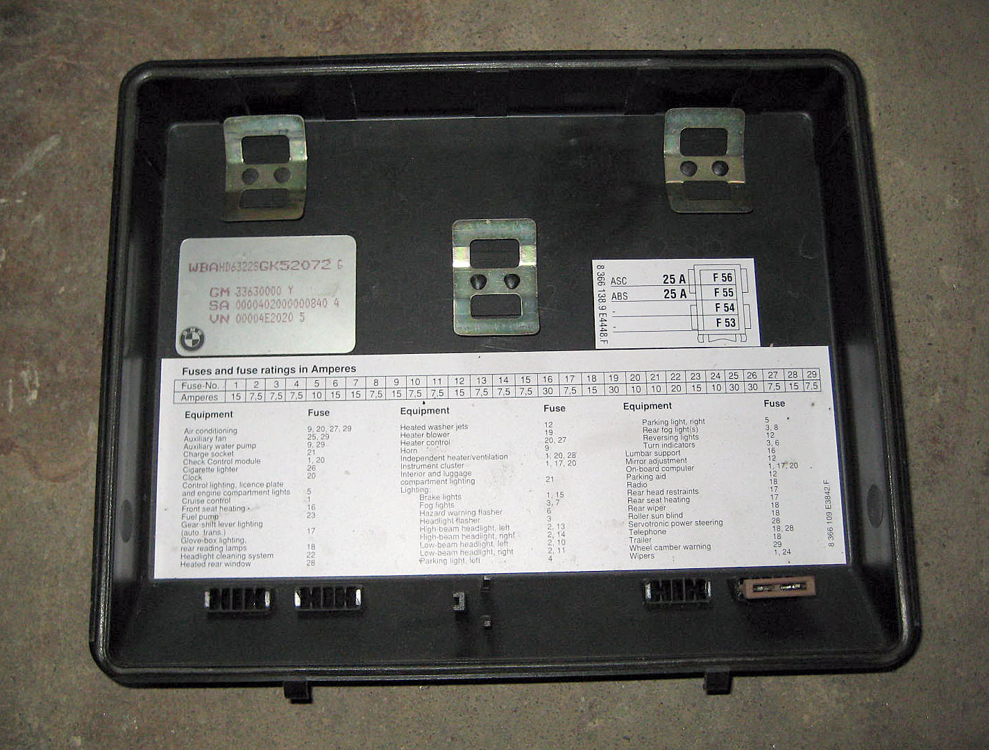 E34 Fuse Box Location Wiring Diagram Will Be A Thing 1991 Bmw 525i 21 Images House