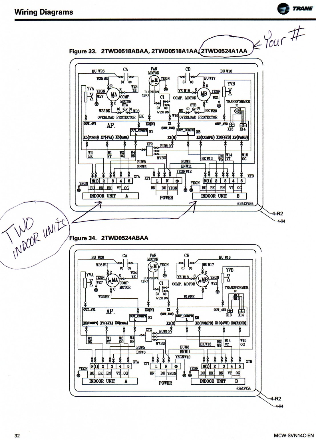 Trane Xe 900 Wiring Diagram 27 Images 2011 03 02 225647 Multi Split Hp232 How Do I Connect 2 2mww0512e1000aa To 1