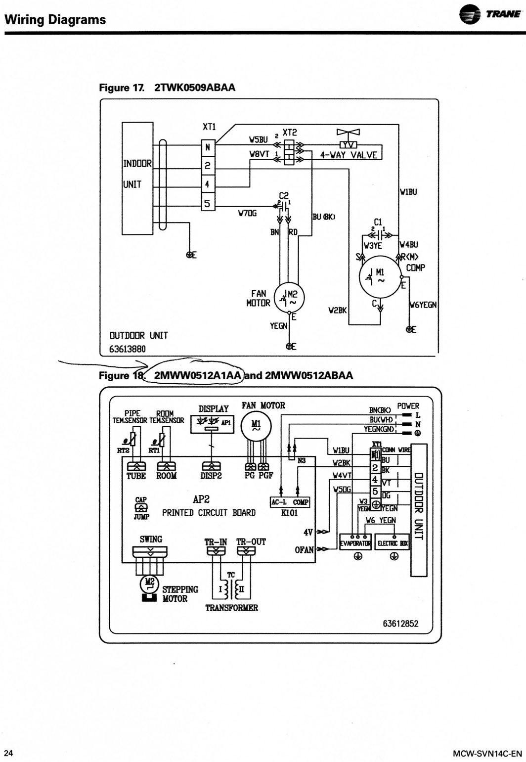 Trane Wiring Diagrams Free Great Design Of Diagram Schematic Get Image About Hvac System