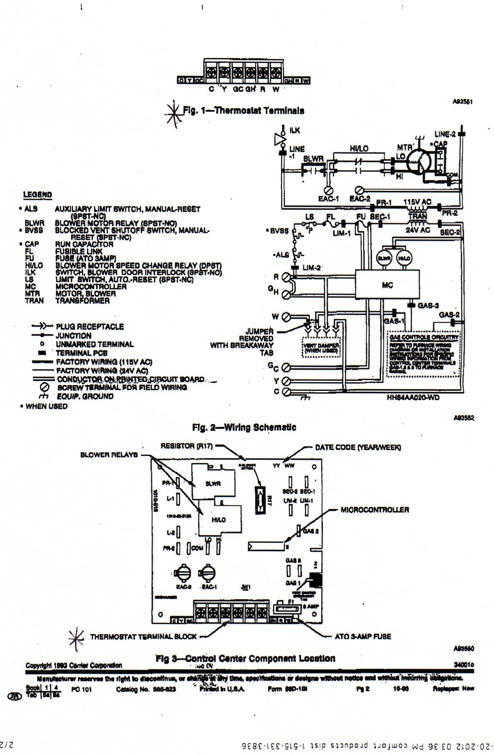 I just installed an aprilaire 8463 thermostat. Fan only setting is not working. I have a wire running from G on  sc 1 st  JustAnswer.com : wiring diagram for aprilaire 700 - yogabreezes.com