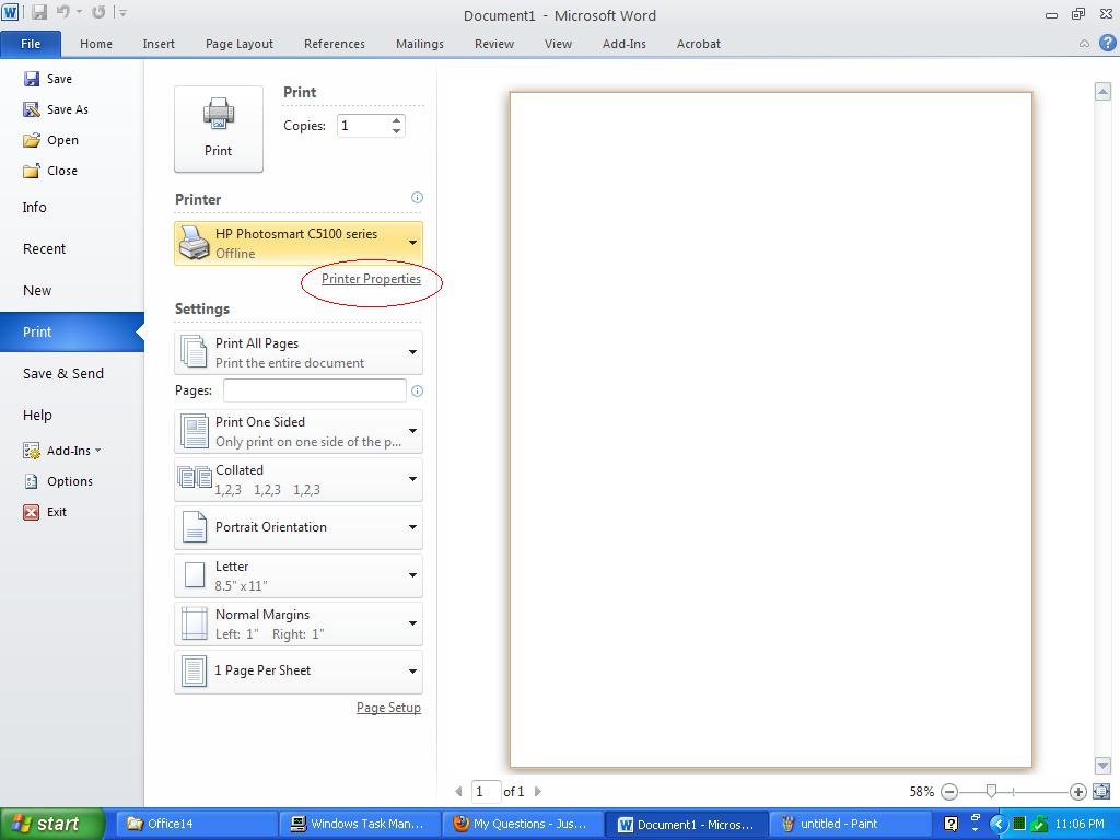how to keep scale in ms word