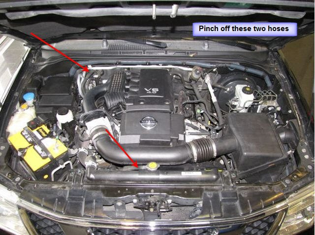 2005 Nissan Xterra Cooling System Schematic Diy Enthusiasts Wiring