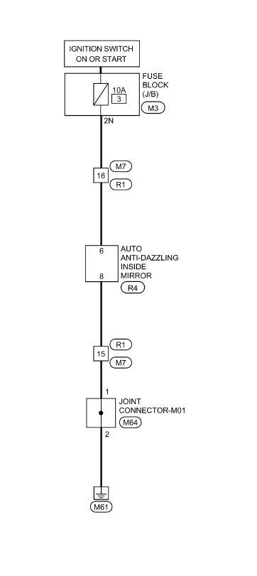 how do i install a auto dim rear view mirror in 2009 altima