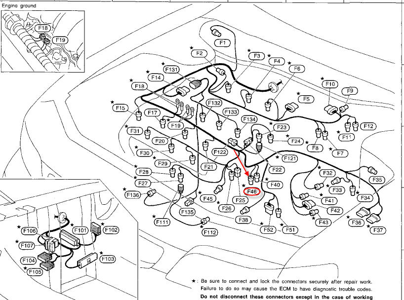 Max Map Sensor Location on 2000 Chevy Blazer Vacuum Diagram For 4wd