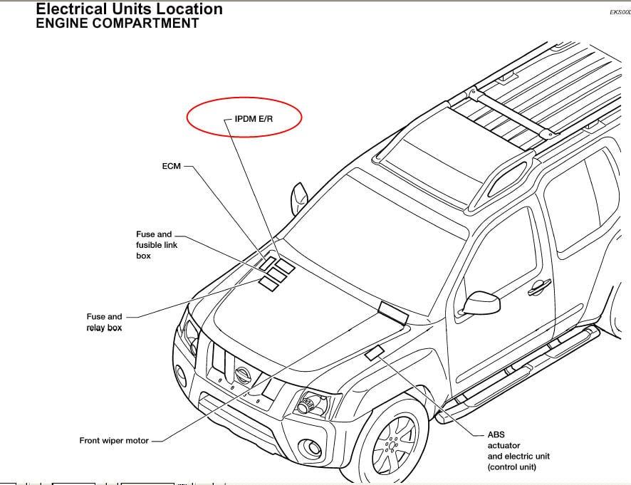 Nissan Xterra Ipdm