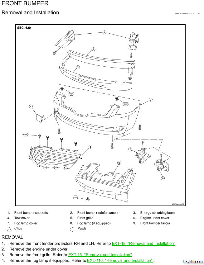 Diagram Instruction On How To Change The Headlights On My 2009 Nissan Altima Sedan