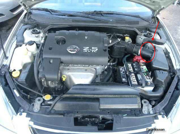 We Have A 2002 Nissan Altima 2 5l Here  The Vehicle Will