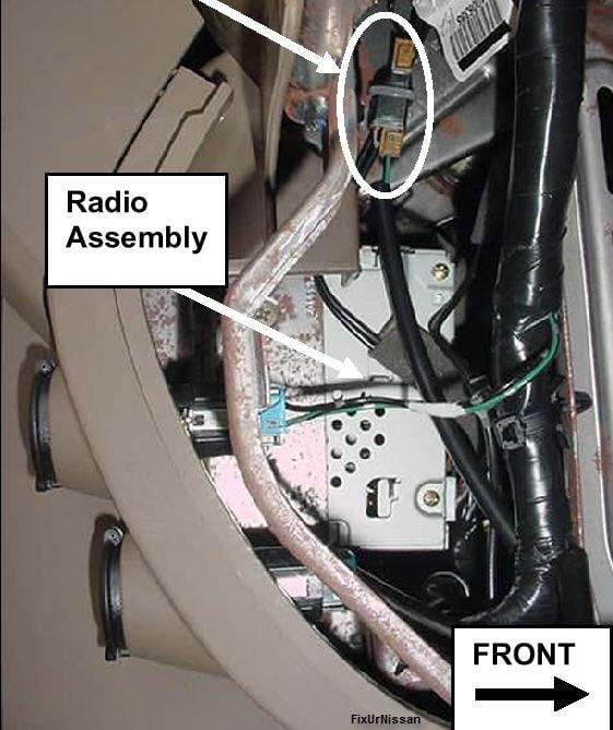 nissan pathfinder 2005 radio antenna