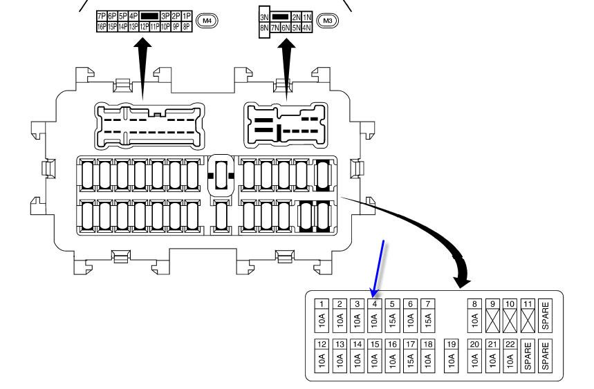 2010 Nissan Versa Fuse Box Diagram Html