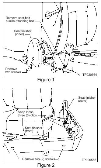 My Infiniti G35 2006 Driver Seat Recliner Switch Is Going Backwards But Not Forward  I Spoke To