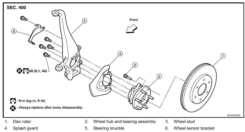 96 Sentra Engine Diagram as well Air Brake System Diagram Likewise Nissan Sentra Exhaust System Diagram besides Nissan Versa Trunk Fuse Box Location together with RepairGuideContent moreover 2008 Rogue Hub Lock Nut Size T566093. on sentra spec