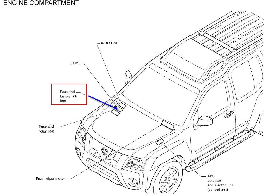 2001 nissan frontier engine diagram  u2022 wiring diagram for free