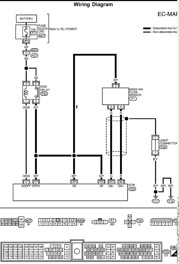 no start hot gm maf sensor wiring diagram nissan maf sensor wiring diagram