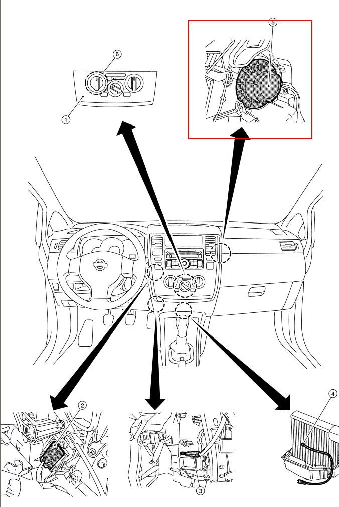 I Have A Nissan Versa 2007 That Needs The Blower Motor Replaced And Rhjustanswer: 2007 Nissan Pathfinder Blower Motor Location At Gmaili.net