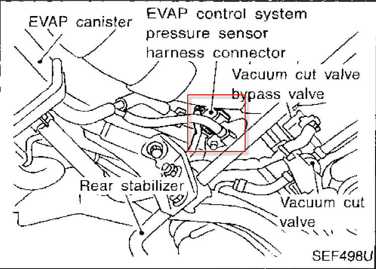 I Have A 1998 Nissan Altima Gxe With A Fault Code Of P0450  I Already Changed Out The Vent