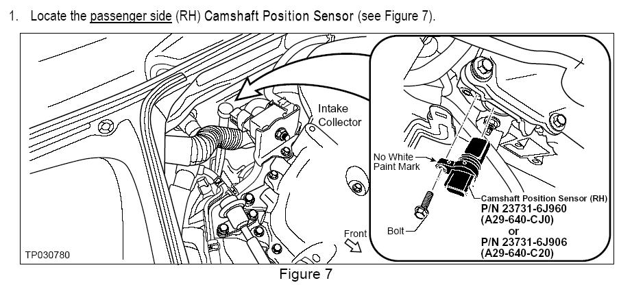 p0340 camshaft position sensor a circuit bank 1 2003. Black Bedroom Furniture Sets. Home Design Ideas