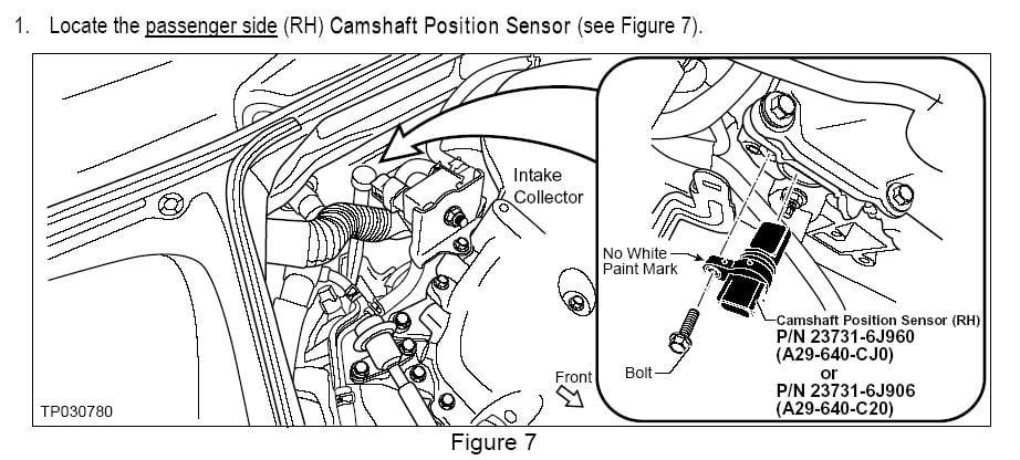 4 7 Jeep Engine Diagram Cam Shaft likewise Nissan Pathfinder 3 0 1989 Specs And Images furthermore Nissan Altima Air Fuel Ratio Sensor Location additionally 3mcsq 2005 Nissan Altima Se V6 3 5l Engine Right Location moreover P 0996b43f81b3d20d. on 2005 nissan pathfinder camshaft position sensor