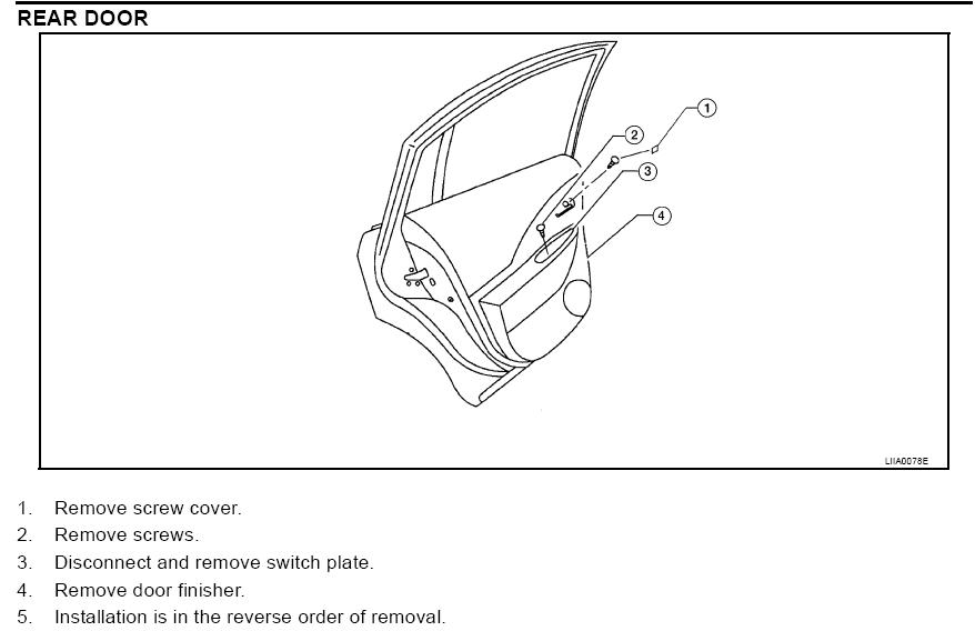 2003 nissan altima power window problem  sometimes the windows  especially rear  will refuse to