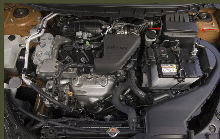 How to change nissan rogue engine air filter Nissan Rogue Engine Diagram on suzuki grand vitara engine diagram, lexus lfa engine diagram, ford explorer sport trac engine diagram, mini cooper countryman engine diagram, kia forte engine diagram, jaguar x-type engine diagram, infiniti fx engine diagram, toyota fj cruiser engine diagram, mazda cx-9 engine diagram, acura tsx engine diagram, kia soul engine diagram, bmw 135i engine diagram, dodge magnum engine diagram, suzuki sx4 engine diagram, oldsmobile bravada engine diagram, subaru brz engine diagram, bmw z4 engine diagram, porsche cayenne engine diagram, infiniti m45 engine diagram,