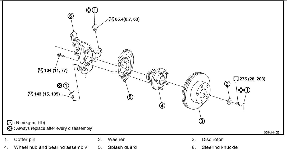 g37 rear suspension