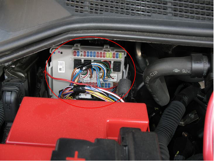 Full Size Image: Fuse Box Location On 2003 350z At Executivepassage.co