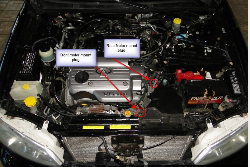 2001 Infiniti I30 has a whirring noise coming from in ...