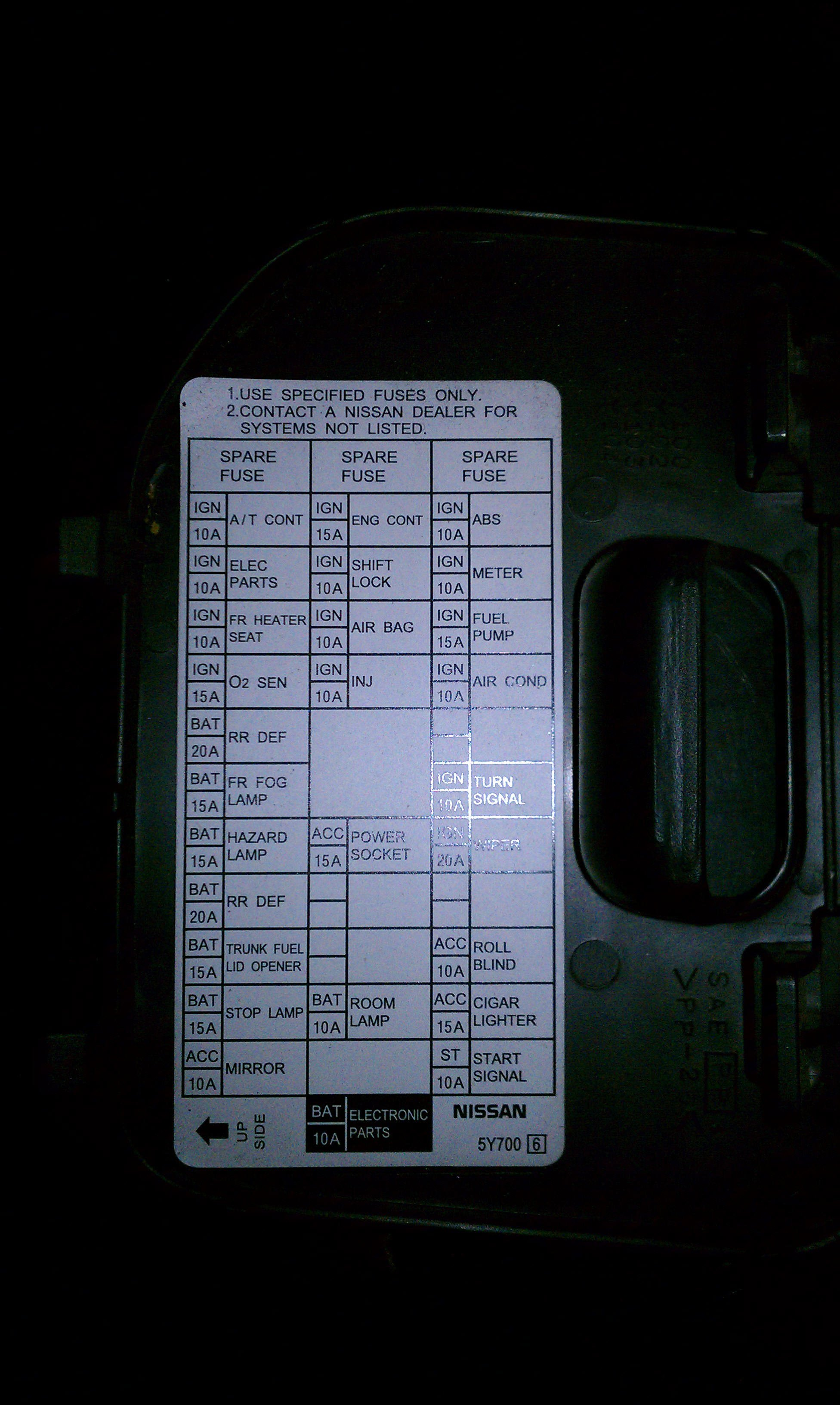 07 Infiniti G35 Fuse Box Location Wiring Library Ipdm Diagram 2003 I35 Automotive U2022 Gasket For 2004