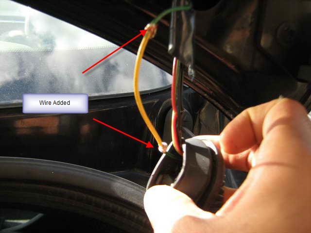 How do I replace an actuator in a 2003 Infiniti G35 trunk? G Trunk Wiring Harness on
