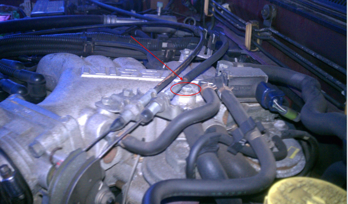 2004 Nissan Frontier 6 Cylinder On Idle The Temperature Gauge