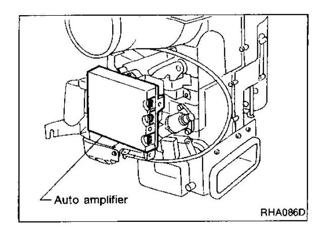 1995 J30 No Power At A C Control Head