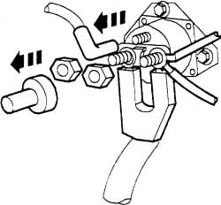 When key is turned it will click once and stop but will not ...  F Start Relay Wiring on
