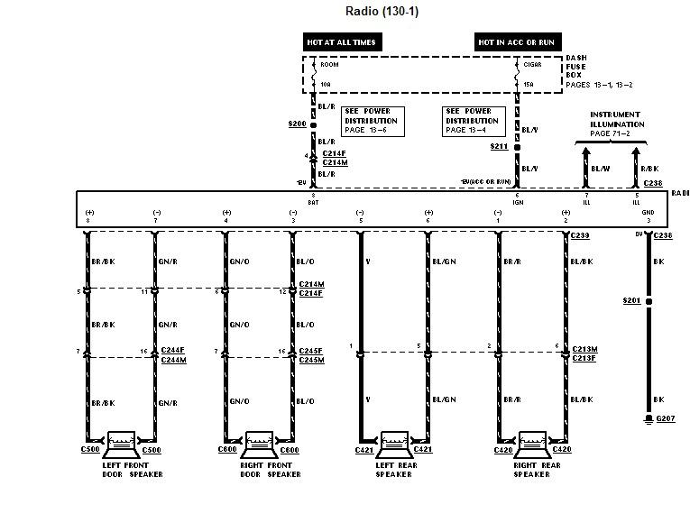 1997 ford aerostar fuse box diagram 1997 ford aspire fuse box diagram 1997 ford aspire: it runs great...radio doesnt work #11
