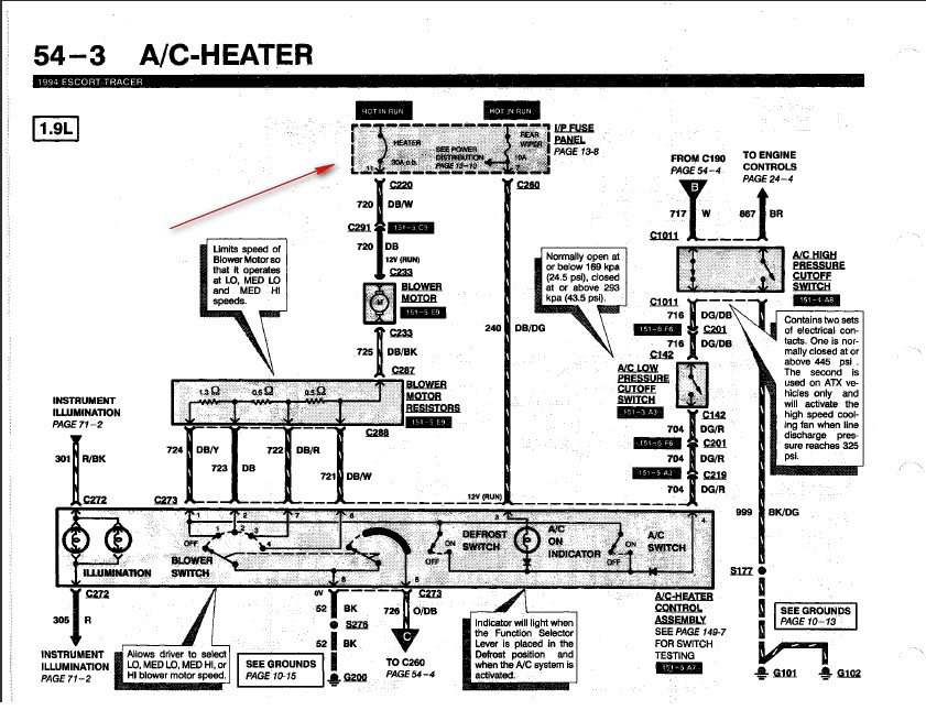 Ford Tempo Starter Wiring Diagram Ford Auto Wiring Diagram