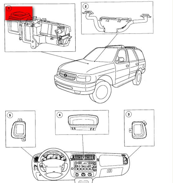 i have an \u002701 ford explorer 2 door sport lent it to a daughterCabin Filter For A 2003 Ford Explorer #20