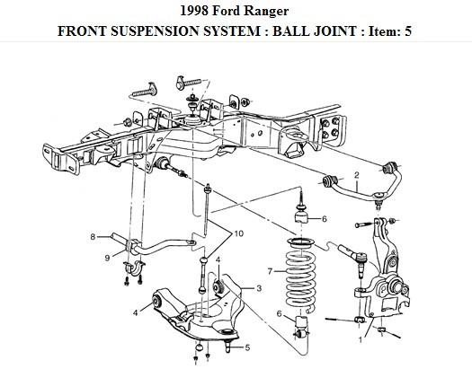 2002 f150 lower ball joint how to