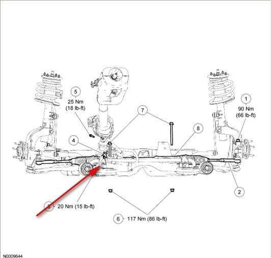 steering gear diagram