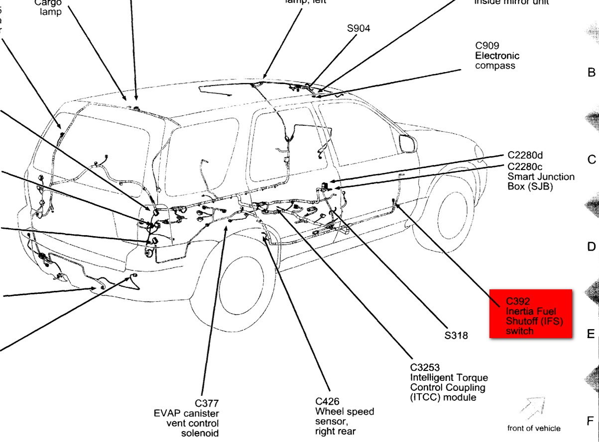 Ford Edge Wiring Diagram Schematic Wirdig P90 Pickup Moreover 5 Way Super Switch Escape Tail Light Images For 2007 Get