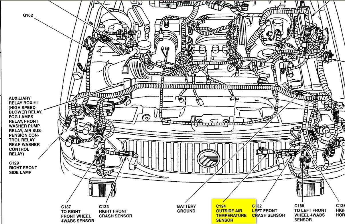 2005 mercury mountaineer wiring diagram  u2022 wiring diagram