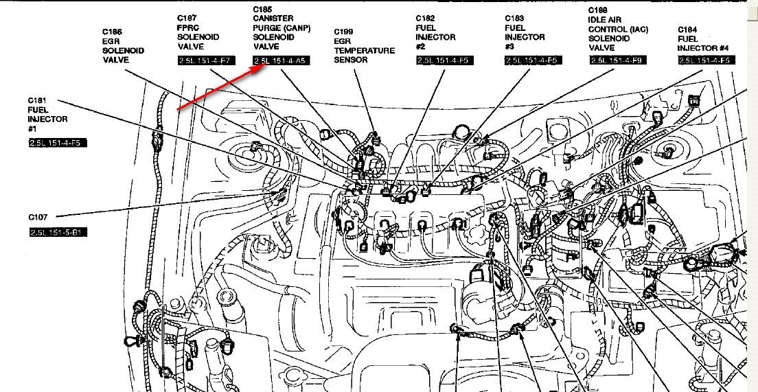 Ford Probe Fuel Filter Location Wiring Diagramrh33yoganeuwiedde: Ford Probe Fuel Filter Location At Gmaili.net