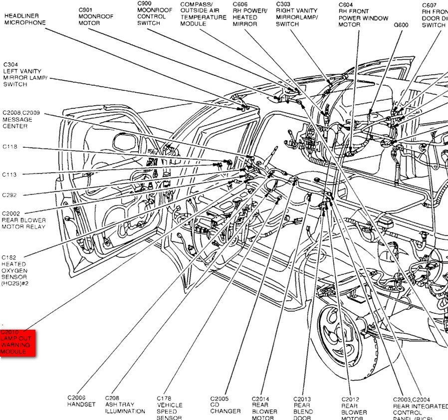 2010 ford explorer parts diagram  ford  auto wiring diagram
