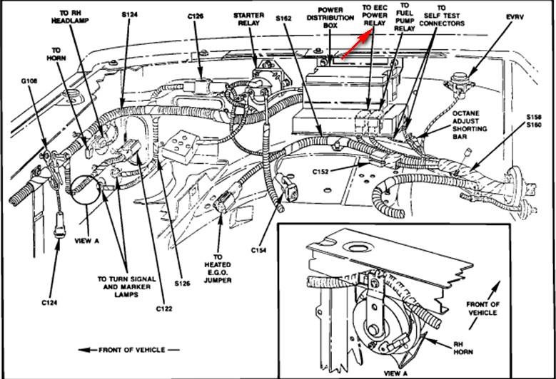 1989 ford ranger  trans  module  eng  sprayed starting